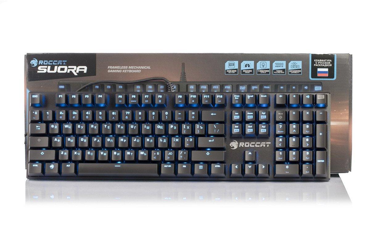 ROCCAT Suora Frameless Mechanical Gaming Keyboard, RU Layout