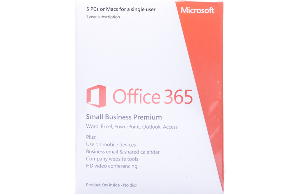 Microsoft Office 365 Small Business Premium 32/64 English Subscr 1yr Middle East Medialess