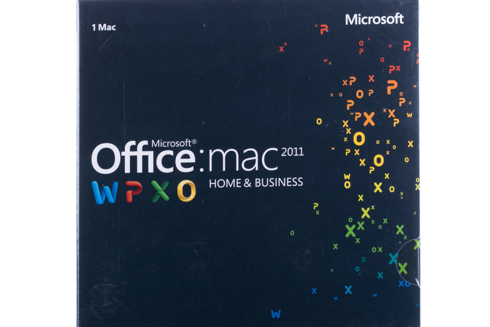 Office Mac Home Business 1pk 2011 English Middle East Em DVD